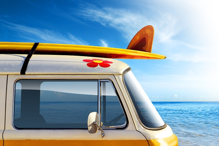 """""""3 Ways to Carry your Surfboard in your Motorhome"""""""