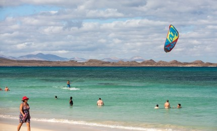 """4 Spots de Kite en Fuerteventura"""