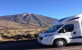 """A Christmas in a Motorhome in the Canary Islands"""