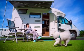 Tips for traveling in a motorhome with children
