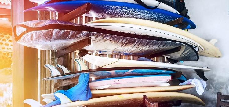 Si tienes una tabla de surf, tienes que tener una funda apropiada